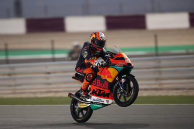 Moto3™: Masia decimates the lap record on Day 3