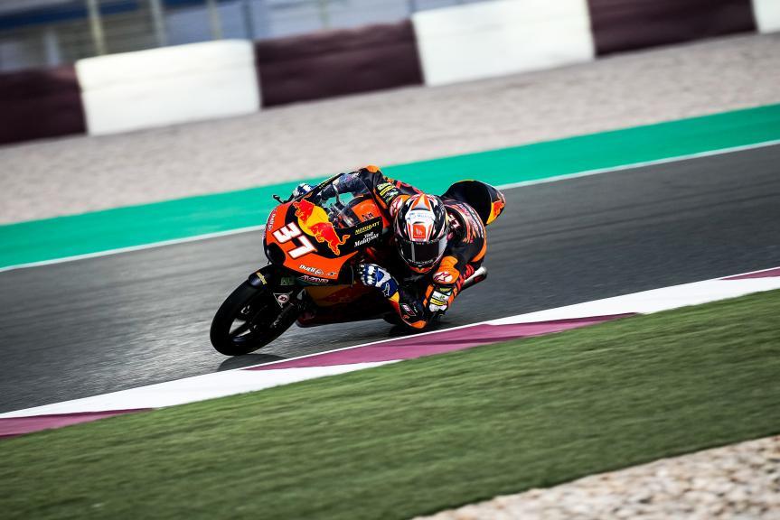 Pedro Acosta, Red Bull KTM Ajo, Qatar Moto3/Moto2 Official Test, 2021