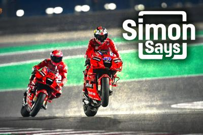 Simon Says: First corner key to Ducati's hopes