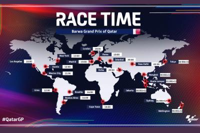 Todos los horarios del Gran Premio Barwa de Qatar