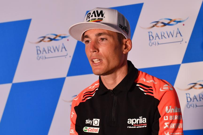 Aleix Espargaro, Press Conference, Barwa Grand Prix of Qatar, 2021