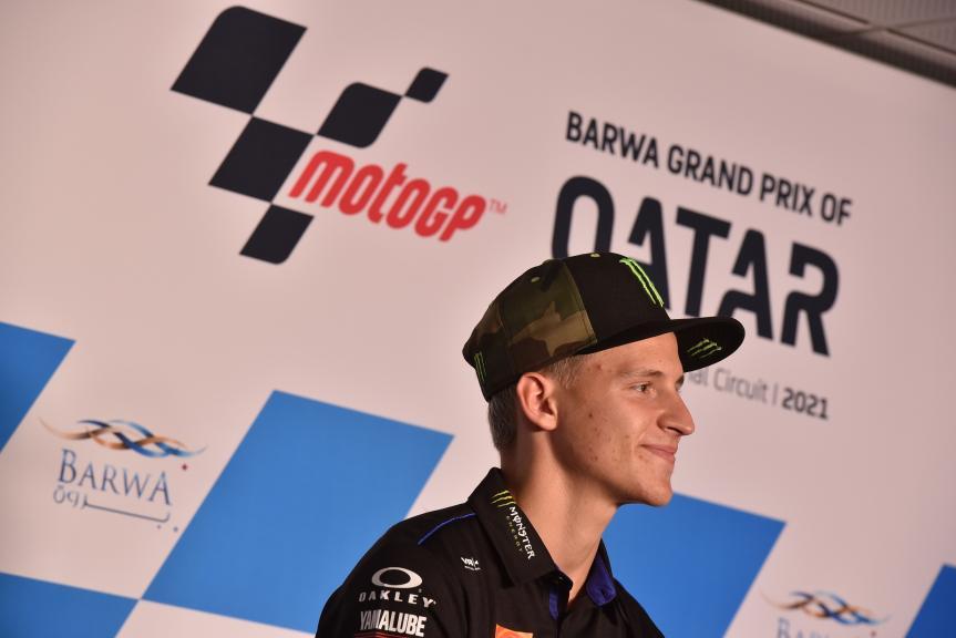Fabio Quartararo, Press Conference, Barwa Grand Prix of Qatar, 2021