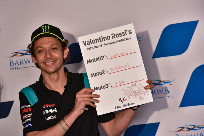 Valentino Rossi, Press Conference, Barwa Grand Prix of Qatar, 2021
