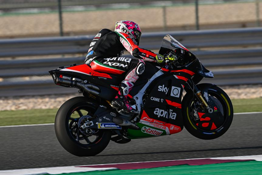Aleix Espargaro, Aprilia Racing Team Gresini, Barwa Grand Prix of Qatar
