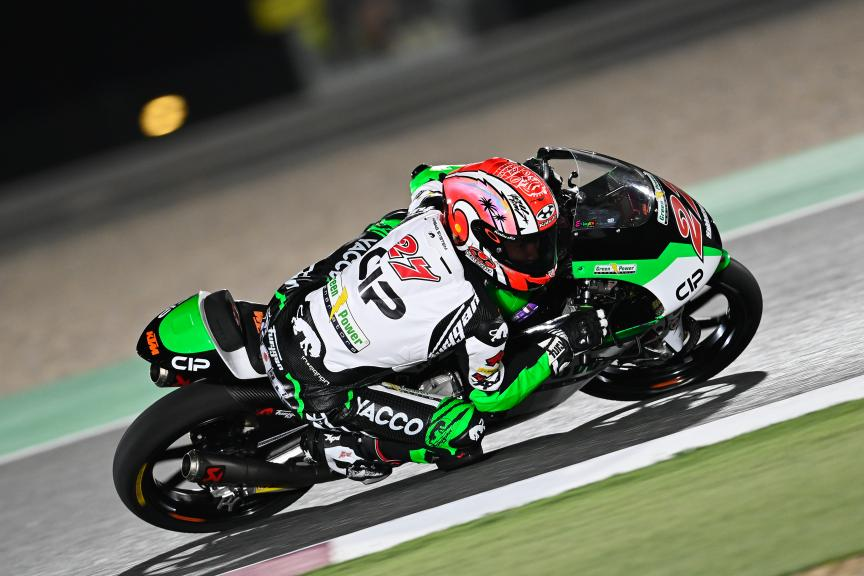 Kaito Toba, Cip Green Power, Barwa Grand Prix of Qatar