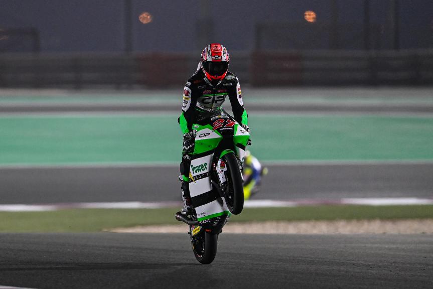 Kaito Toba, Cip Green Power, Barwa Grand Prix of Qatar