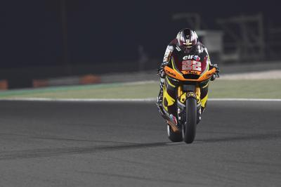 Moto2™: Lowes takes charge on Day 1 in the desert
