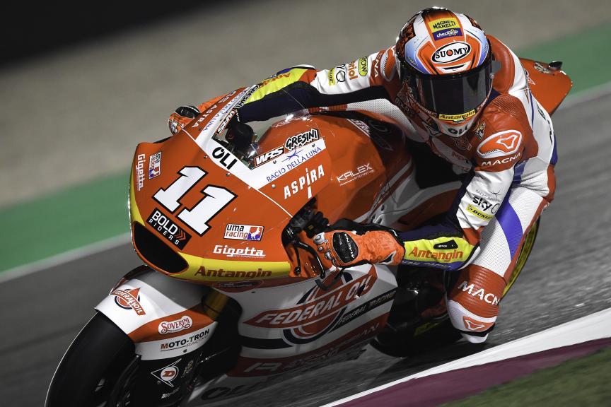 Nicolo Bulega, Federal Oil Gresini Moto2, Barwa Grand Prix of Qatar