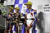Bo Bendsneyder, Raul Fernandez, Sam Lowes, Barwa Grand Prix of Qatar