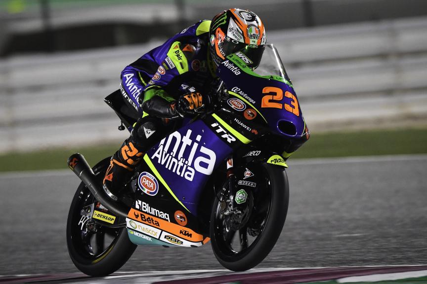Niccolo Antonelli, Avintia Esponsorama Moto3, Barwa Grand Prix of Qatar
