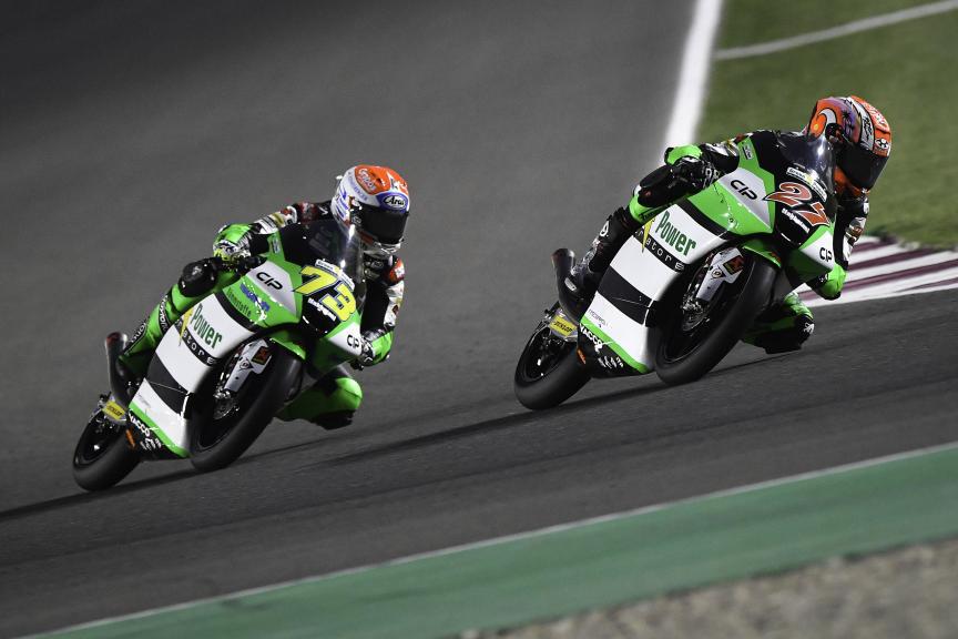 Kaito Toba, Maximilian Kofler, Cip Green Power, Barwa Grand Prix of Qatar