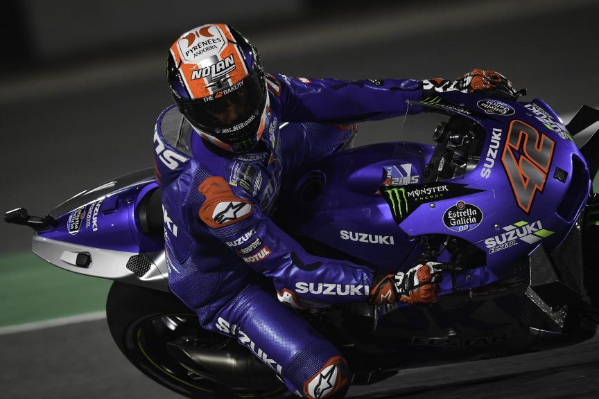 Alex Rins, Team Suzuki Ecstar, Barwa Grand Prix of Qatar