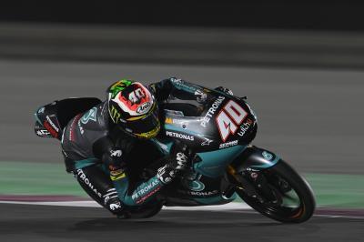 Moto3™ recap: Darryn Binder on pole thanks to new lap record