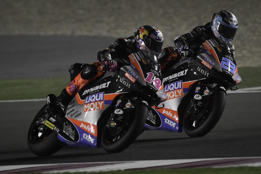 Marcel Schrotter, Tony Arbolino, Liqui Moly Intact Gp, Barwa Grand Prix of Qatar