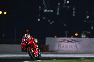 Miller lidera la Ducati de fábrica 1-2 en una FP2 de Qatar