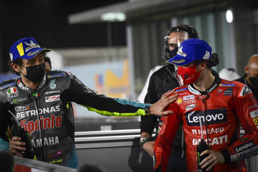 Valentino Rossi, Francesco Bagnaia, Barwa Grand Prix of Qatar