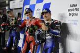 Maverick Viñales, Francesco Bagnaia, Fabio Quartararo, Barwa Grand Prix of Qatar