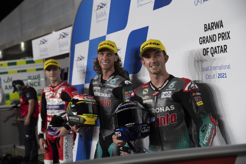 John Mcphee, Darryn Binder, Izan Guevara, Barwa Grand Prix of Qatar