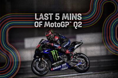 FREE: The final 5 minutes of Q2 from the Barwa Qatar GP