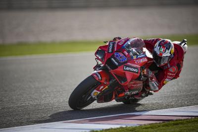 Ducati vola in Qatar; Miller primo dopo le Prove Libere