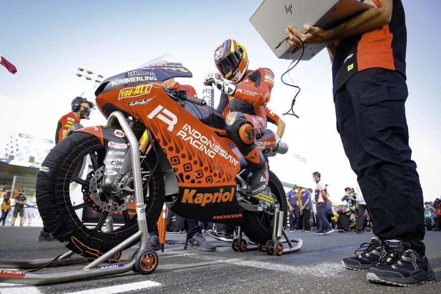 Gabriel Rodrigo, Indonesian Gresini Racing Moto3, Barwa Grand Prix of Qatar
