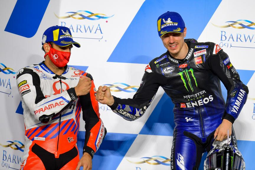 Maverick Viñales, Francesco Bagnaia, Barwa Grand Prix of Qatar