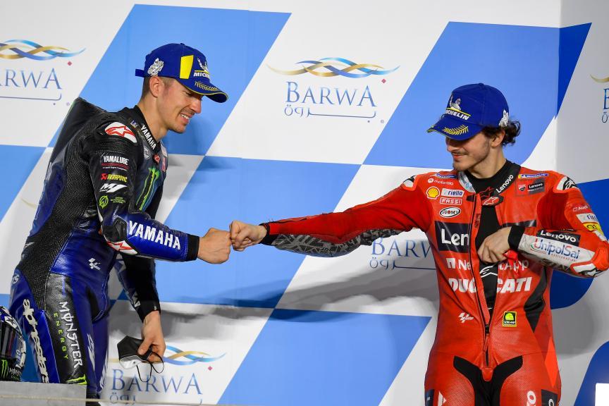 Maverick Viñales, Francesco Bagnaia, Barwa Grand Prix of Qatar