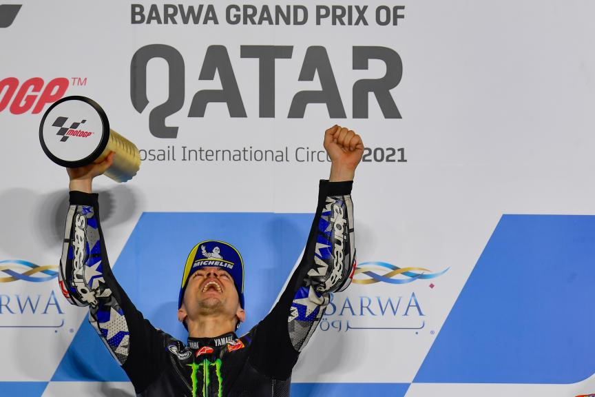 Maverick Viñales, Monster Energy Yamaha MotoGP, Barwa Grand Prix of Qatar