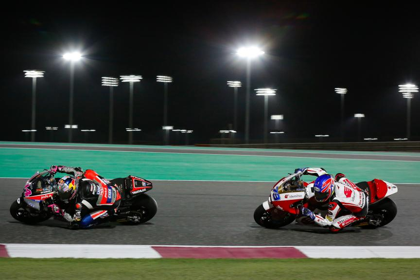 Tony Arbolino, Ai Ogura, Barwa Grand Prix of Qatar