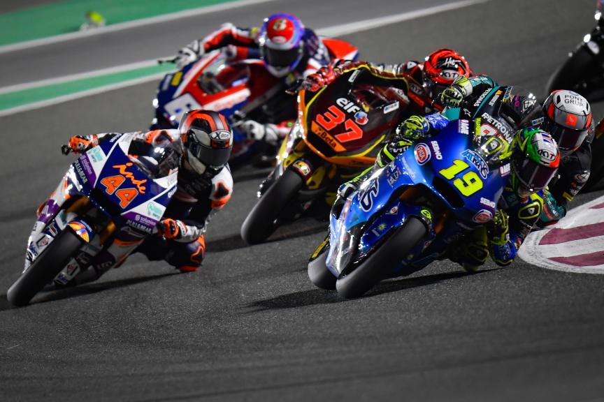 Lorenzo Dalla Porta, Aron Canet, Barwa Grand Prix of Qatar