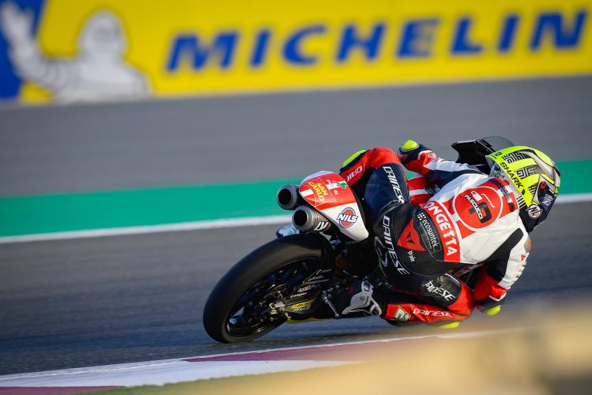 Lorenzo Fellon, Sic58 Squadra Corse, Barwa Grand Prix of Qatar