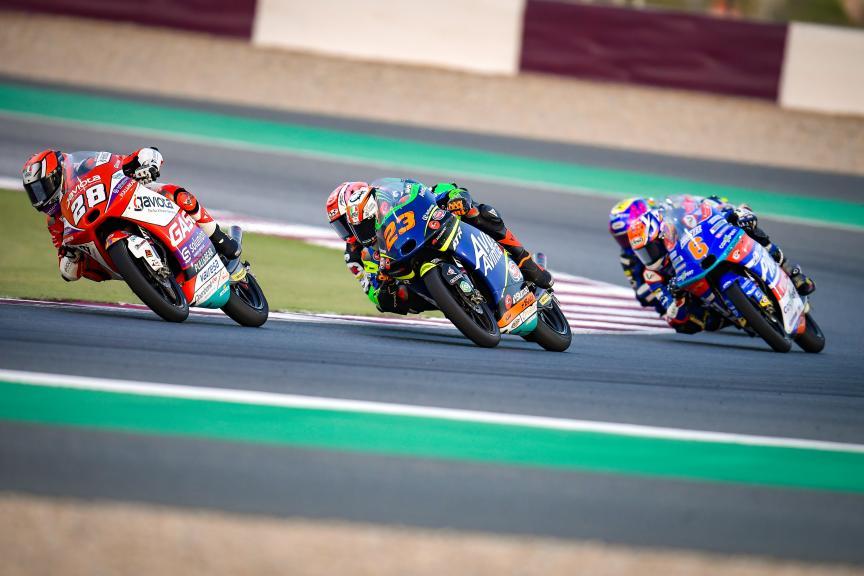 Niccolo Antonelli, Izan Guevara, Barwa Grand Prix of Qatar