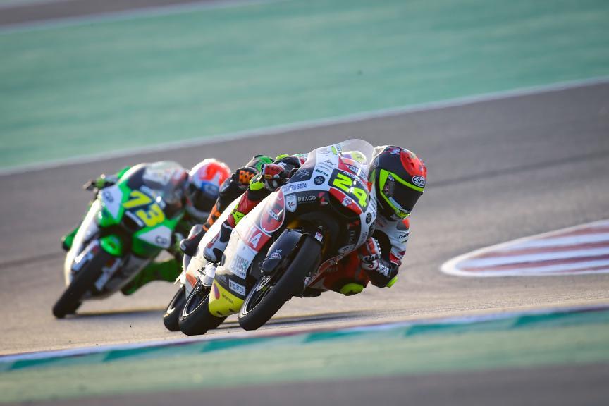 Tatsuki Suzuki, Sic58 Squadra Corse, Barwa Grand Prix of Qatar