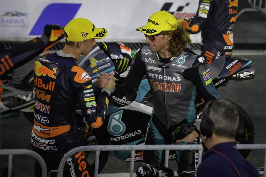 Pedro Acosta, Darryn Binder, Barwa Grand Prix of Qatar