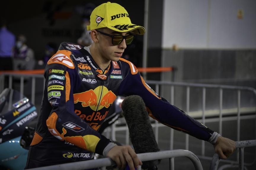 Pedro Acosta, Red Bull KTM Ajo, Barwa Grand Prix of Qatar
