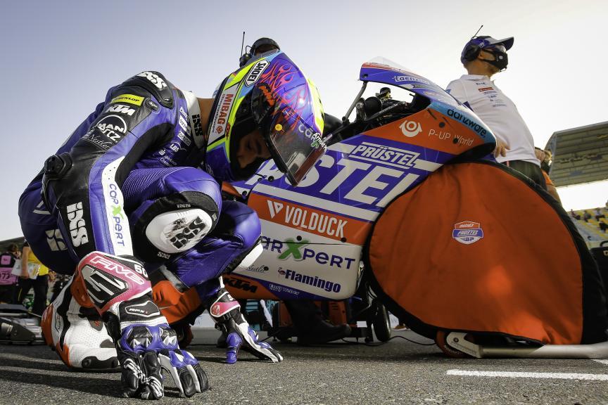 Jason Dupasquier, Carxpert PruestelGP, Barwa Grand Prix of Qatar