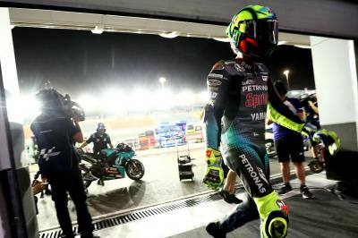 Cos'è successo a Rossi e Morbidelli al GP del Qatar?