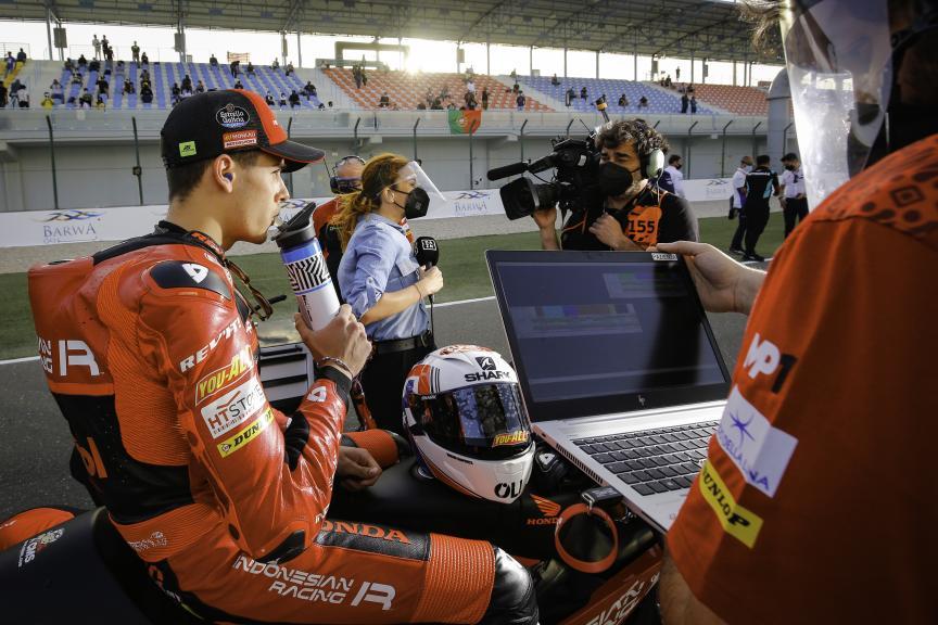 Jeremy Alcoba, Indonesian Gresini Racing Moto3, Barwa Grand Prix of Qatar