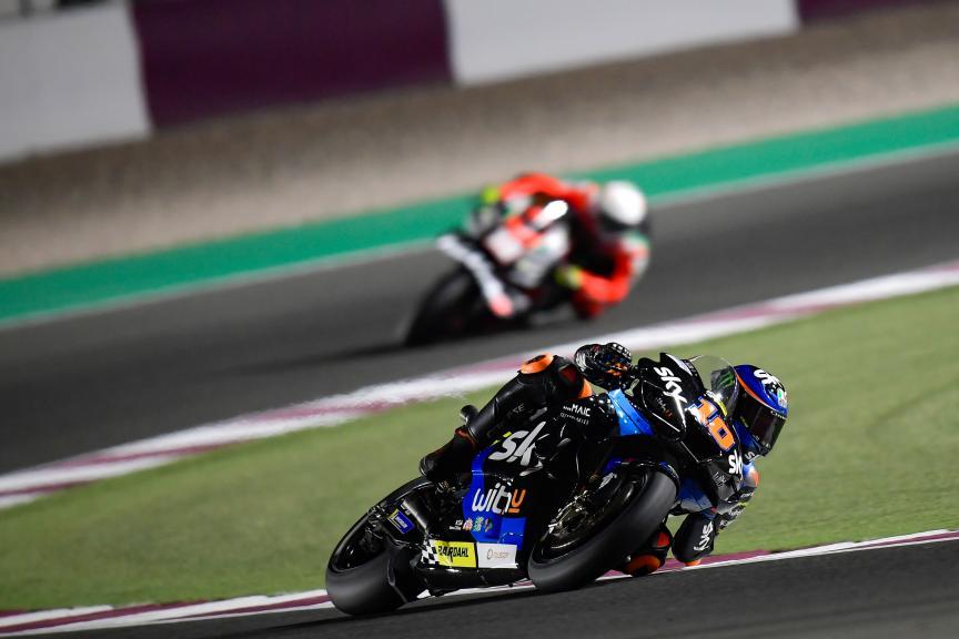 Luca Marini, Sky VR46 Esponsorama, Barwa Grand Prix of Qatar