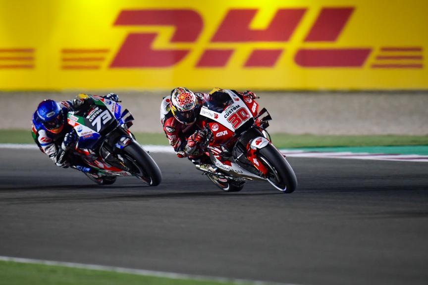 Takaaki Nakagami, Alex Marquez, LCR Honda, Barwa Grand Prix of Qatar
