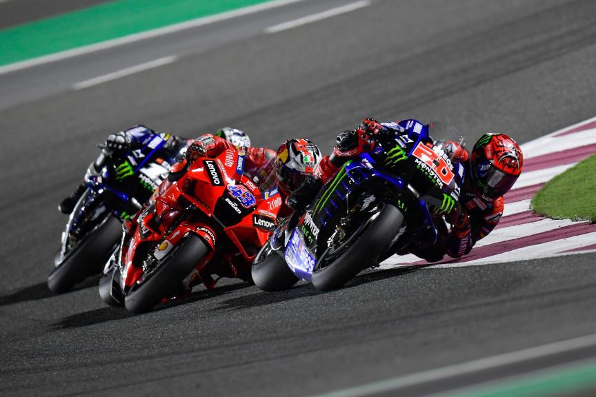 Fabio Quartararo, Jack Miller, Barwa Grand Prix of Qatar