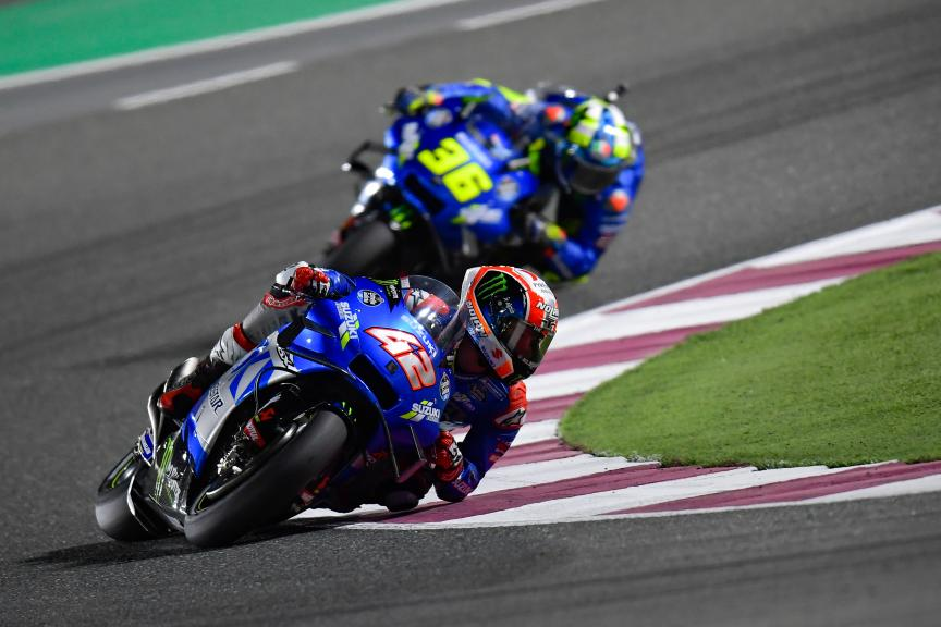 Alex Rins, Team Suzuki Ecstar, Barwa Grand Prix of Qatar