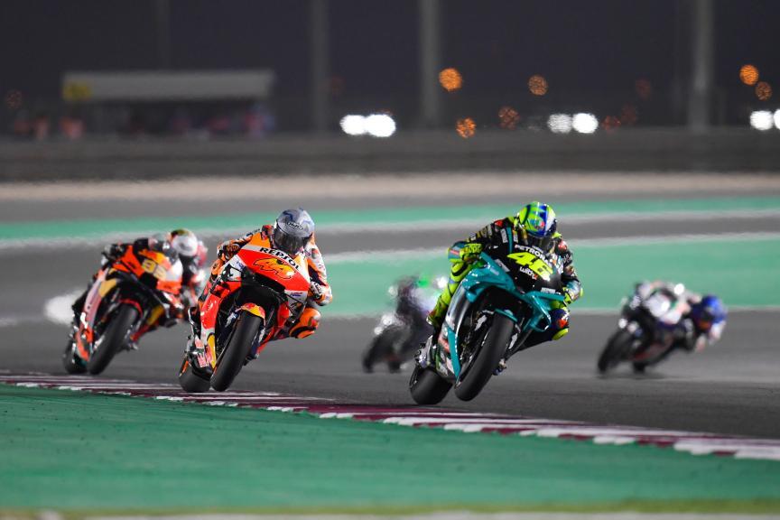Valentino Rossi, Pol Espargaro, Barwa Grand Prix of Qatar