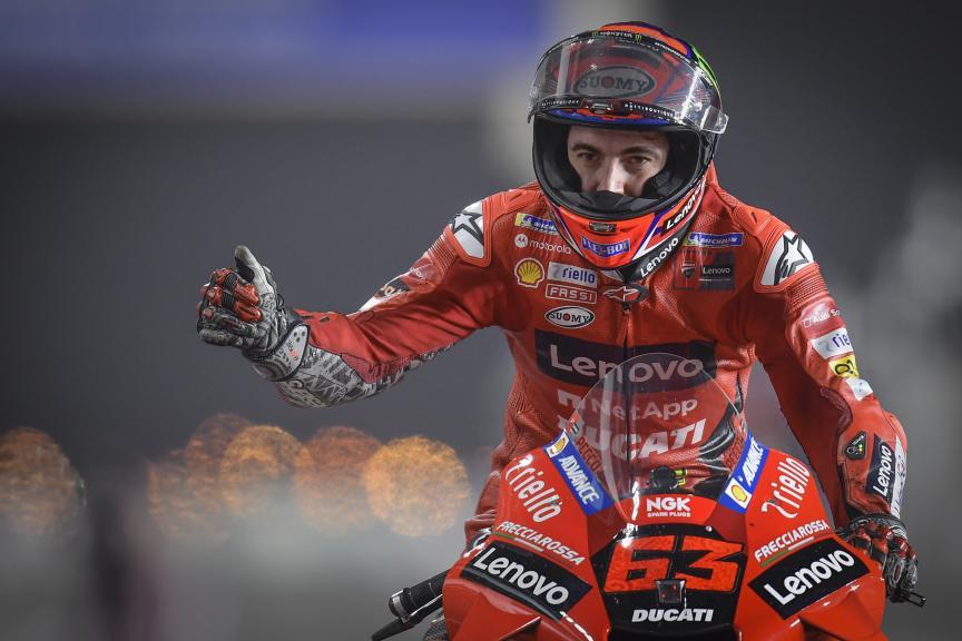 Francesco Bagnaia, Ducati Lenovo Team, Barwa Grand Prix of Qatar