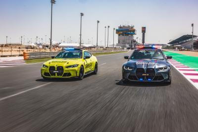 BMW M presenta nueva flota de coches de seguridad para MotoGP ™ en 2021