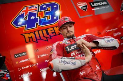 """Miller: """"Sarò tra i primi due già alla curva 1"""""""