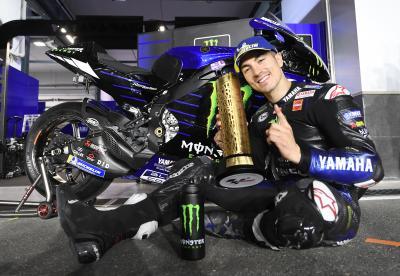 Viñales y Yamaha: Kings of Qatar nuevamente