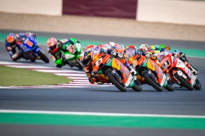 FREE: Relive the final minutes of an epic Moto3™ race