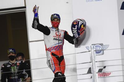 Zarco dimostra il suo valore con il podio in Qatar