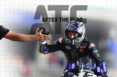 After the Flag vom Qatar GP